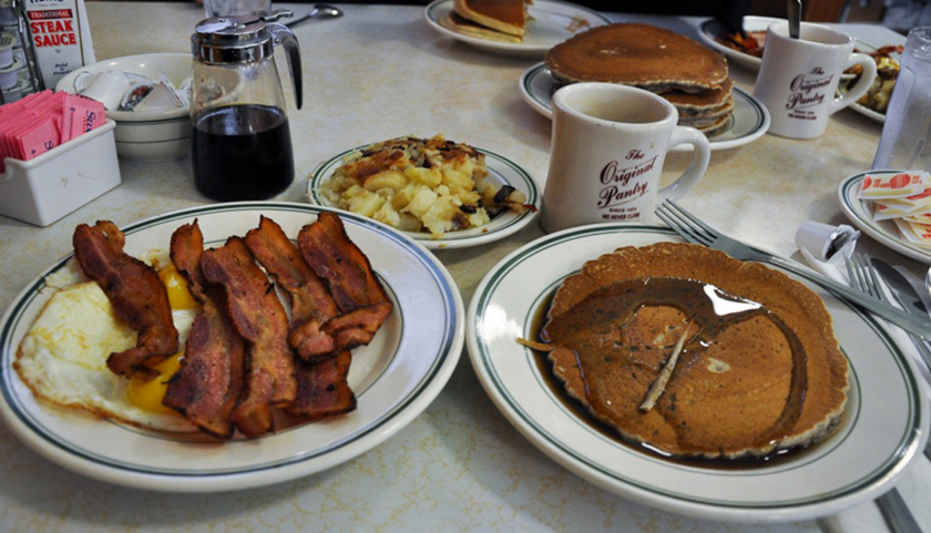 Prendre un brunch à Los Angeles Pantry Cafe