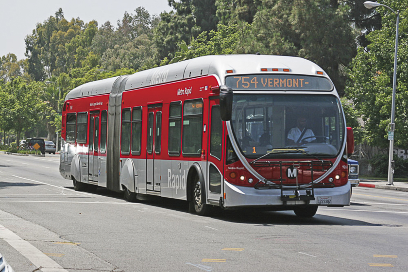 Se déplacer à Los Angeles - Metro Bus