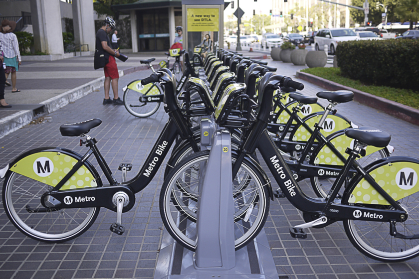 Se déplacer à Los Angeles - Bike Share